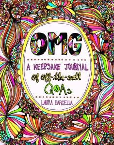 OMG A Keepsake Journal - cover