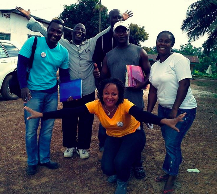The KEEP Liberia team.