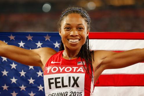 Allyson Felix, United States of America